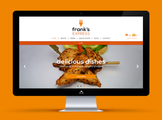 Frank's Express Website